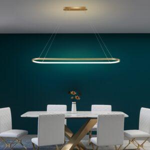 Acrylic Modern Led Pendant Light