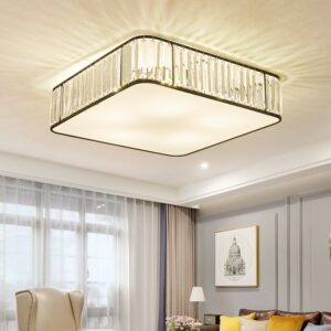 Classical Square Crystal Chandeliers