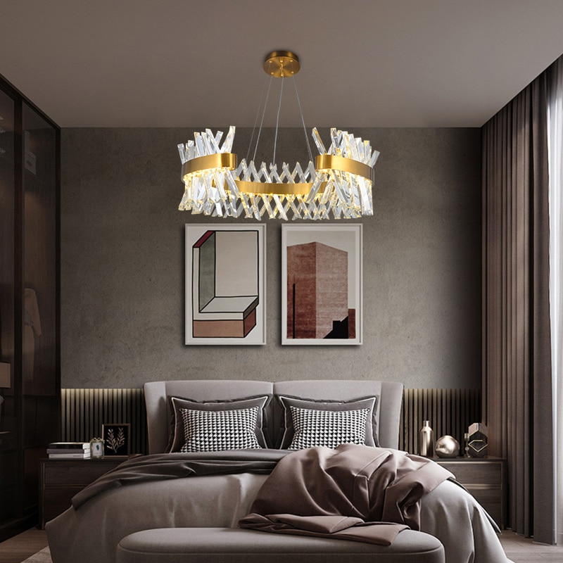 Modern-Beautiful-Crystal-Chandelier-AC90-260-Lustre-Indoor-Light-Hanging-Lamp-LED-Chandelier-For-Corridor-Aisle-2