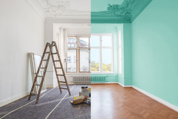 We act as renovation project managers. So our partners take care of all the different aspects.