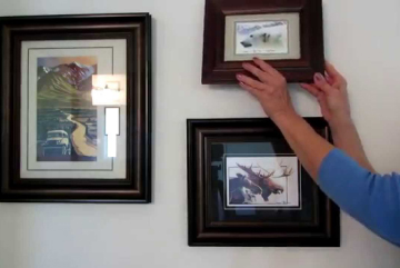 We can hang all your wall frames and mirrors on the wall using the latest techniques